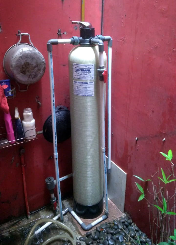 Pemasangan Filter Air di Rawalumbu