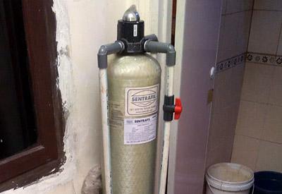 Pemasangan Penyaring Air di Griya Makrik Asri
